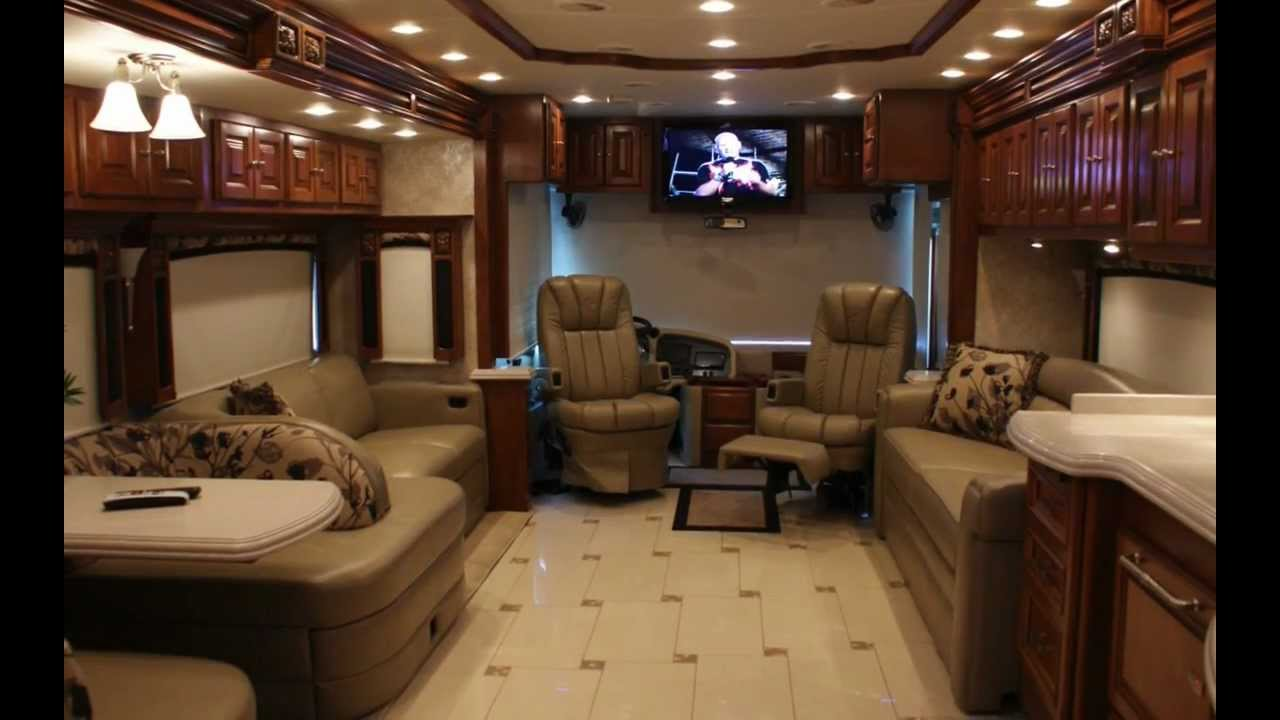 Tiffin Allegro Bus Luxury Rv Rental Youtube