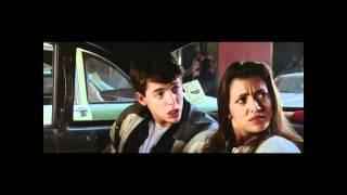 Ferris Bueller's Day Off taxi scene