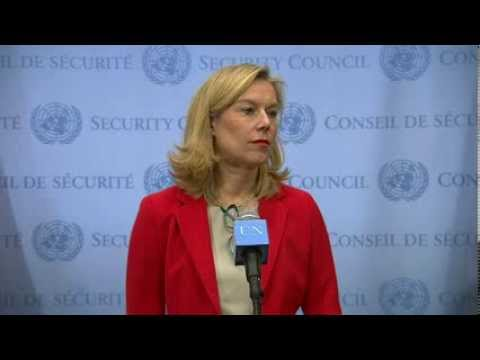 Sigrid Kaag (Joint OPCW-UN Mission) on Syria - Security Council Media Stakeout (6 February 2014)