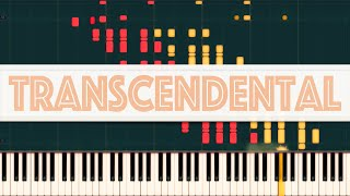 12 Transcendental Études (Complete) // LISZT [Piano Tutorial] (Synthesia)