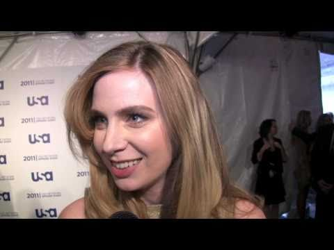 Anne Dudeck of 'Covert Affairs' at the 2011 USA Network upfront