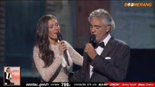 Andrea Bocelli Cheek To Cheek Duet With Veronica Berti From Top Hat