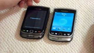 Blackberry Torch 9810 and 9800 Comparison