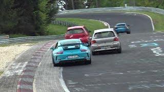 Nürburgring Touristenfahrten 12-5-2019 Brunchen - Powerslide, Big Traffic, Highlights!!