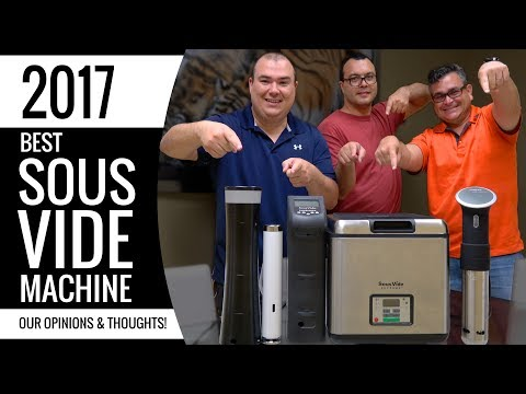 Best SOUS VIDE Machine - Anova, Joule, Sansaire, PolyScience, Sous Vide Supreme
