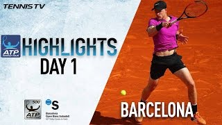 Highlights: Edmund, Almagro Advance On Day One In Barcelona