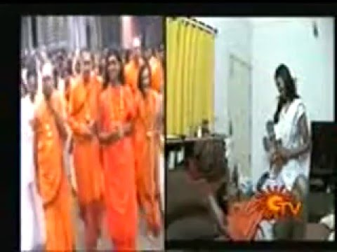 Swamy Nithyananda Scandal in Sun TV Nijam Program Part 1