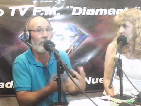 CARLOS A  FERNANDEZ EN RADIO TV FM DIAMANTE (Buenos Aires - Argentina)