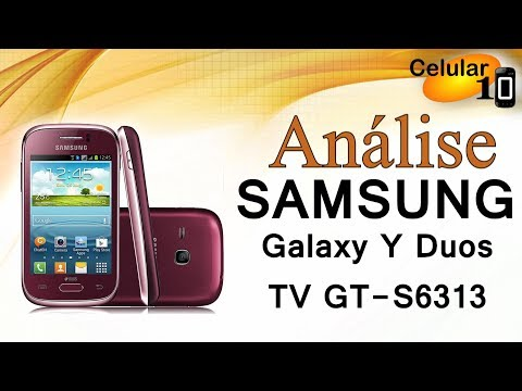 Análise Samsung Galaxy Y Duos TV GT S6313