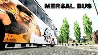 MERSAL PAINTING IN  KPN bus Travels from ets2.