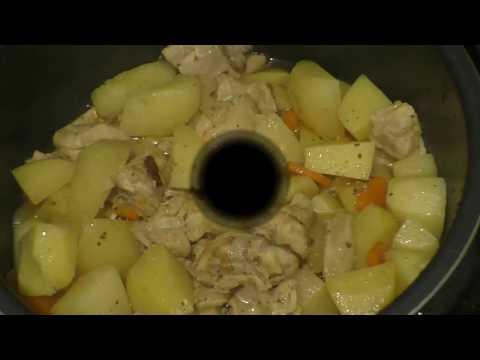 Вкусная Картошка с Курицей в мультиварке-скороварке REDMOND