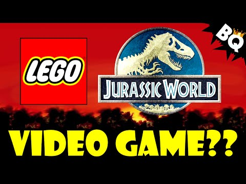LEGO Jurassic World Video Game Coming 2015