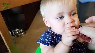 Babies Eating Salt and Vinegar Chips Compilation (2018)