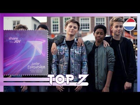 Junior Eurovision 2019 – Top 7 [Netherlands