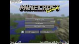 Calinodatoruv Let´s play: Minecraft S01E01  1/2 - Vypnutí...
