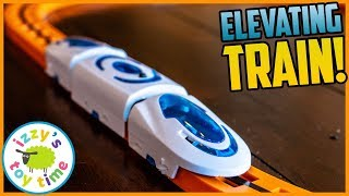 A Train that LEVITATES?! This is crazy! Fun Toy Trains for Kids USING MAGNETS