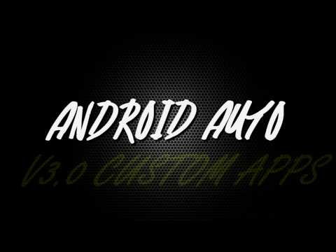 ANDROID AUTO 3.0 CUSTOM APPS