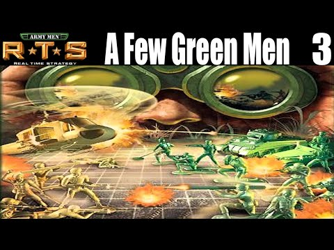 Army Men RTS - A Few Green Men - Let`s Play Gameplay Part 3