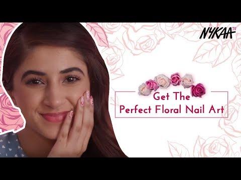 DIY: Floral Nailart + Giveaway | Aashna Shroff + Sonal Sagaraya