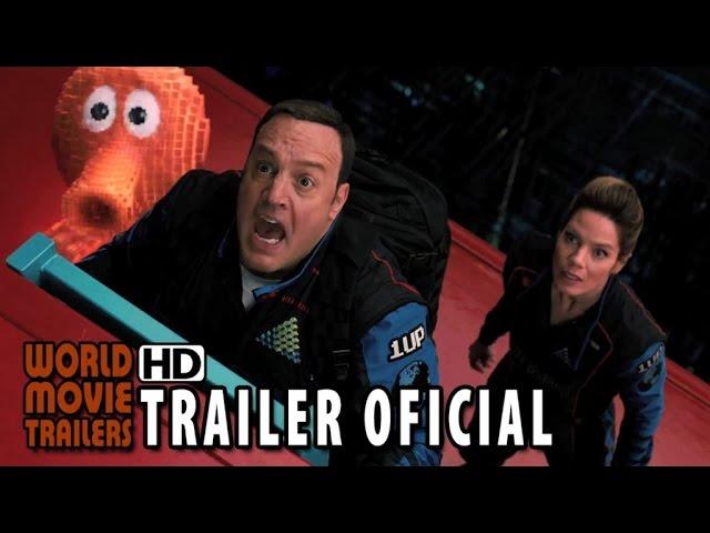 Pixels Trailer Oficial #2 Dublado (2015) - Adam Sandler HD