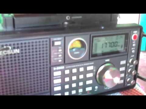 17700 kHz Radio Voice of America in Hausa Language 15:02 UTC