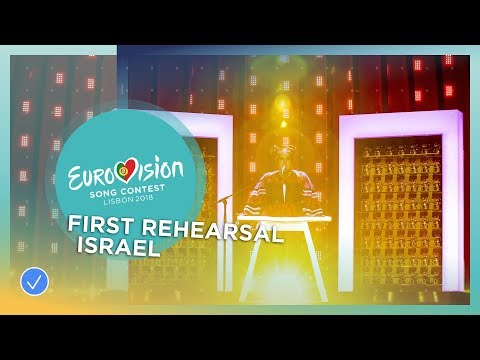 Netta - Toy - First Rehearsal - Israel - Eurovision 2018