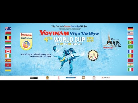 Vovinam Viet Vo Dao World Cup 2014 - Final - Direct Live
