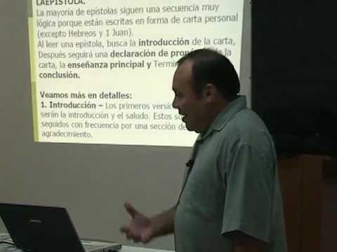 Estudio Inductivo #8 - Santiago Medina - Escuela Biblica