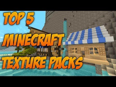 Minecraft: Top 5 Resource Packs 1.7.4 [Texture Packs]