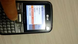 LG C199 - Localizando endereço MAC