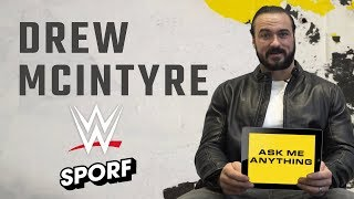 DREW MCINTYRE | Ask Me Anything | SPORF x WWE