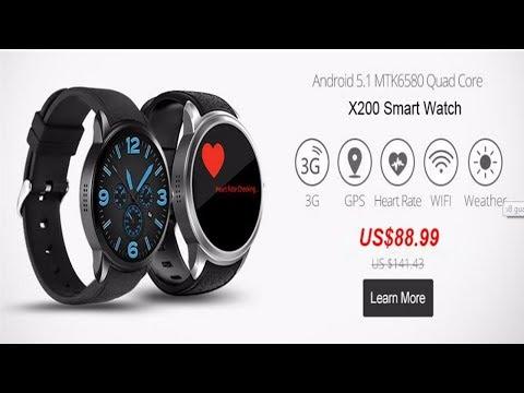 Slimy Best Smart Watch | Android 5.1 Smartwatch Phone | Smart Watch  2017