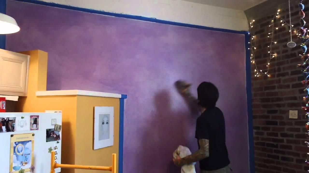 Lazure Portal Painting...V Is For Violet
