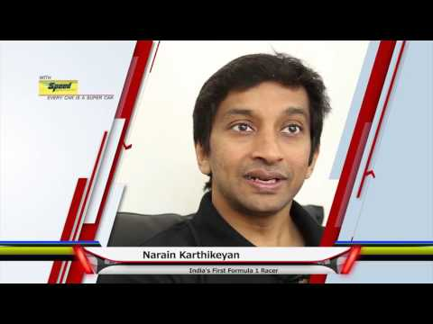 SPEED an iconic Brand, says racing icon Narain Karthikeyan
