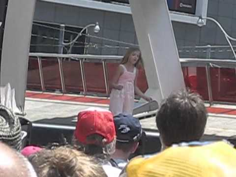 Jackie Evancho - Angel - Toronto 2011may31 video