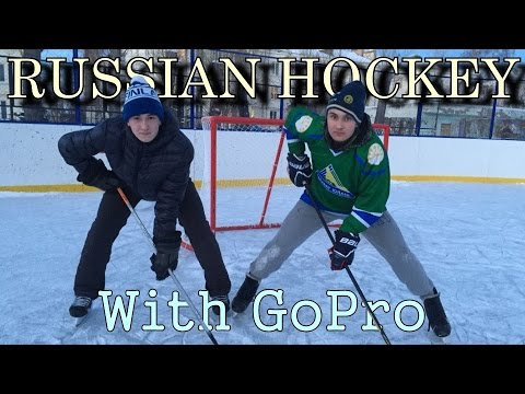 Russian Hockey with GoPro