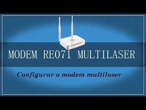 Instalar e Configurar Roteador e Modem Multilaser RE 071