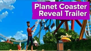 Planet Coaster Reveal Trailer - E3 2015 PC Gamer Show
