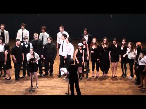 "The Northwest School A Cappella Singing ""Hey Soul Sister"""