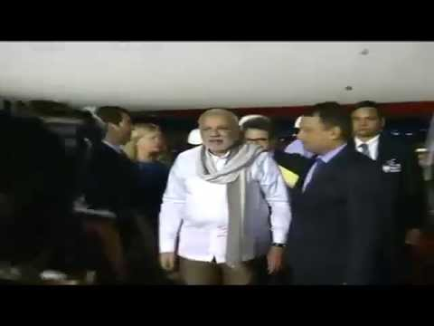 PM Modi arrives in Brasilia for the Sixth BRICS Summit