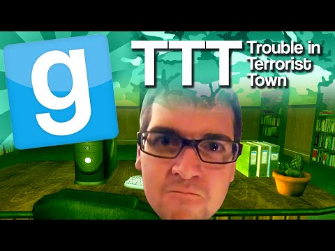 GMod TTT - Stay Out of My Office (Garry's Mod Trouble In Terrorist Town)