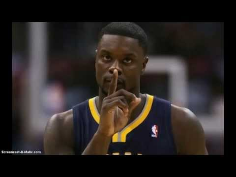 Lance Stephenson Hot Nigga Freestyle video