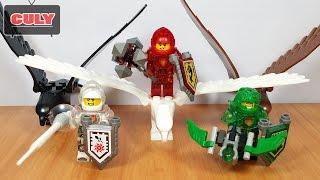 Ghép 3 bộ Lego Nexo Knight Future hiệp sĩ cưỡi đại bàng đến từ tương lai