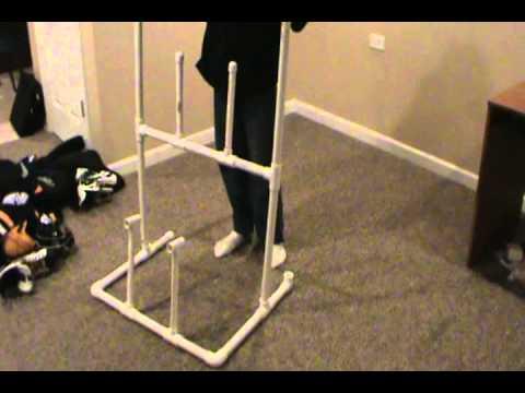 Hockey Drying Rack Plans