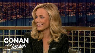 "Rachel McAdams On ""Late Night With Conan O'Brien"" 12/15/05"