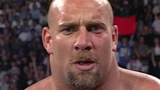 Goldberg wins his first match in WCW