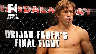 UFC Fight Night Sacramento Preview: Urijah Faber's Final Fight