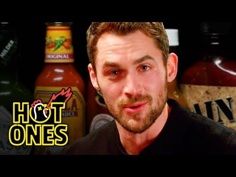 Kevin Love Gets Dunked On By Spicy Wings | Hot Ones