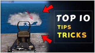 Top 10 PUBG Mobile Tip And Tricks 2019 | How To Play PUBG Mobile like a pro