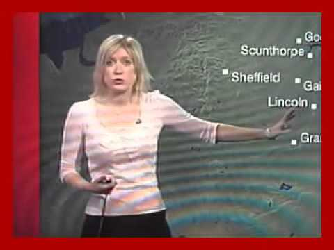 Sexy UK Women Weather Presenters compilation Jul10